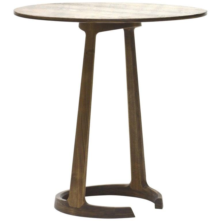 Repose End Table in Walnut by Zac Feltoon for Wooda
