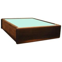 Floating Brazilian Wood Shelf by Celina Moveis