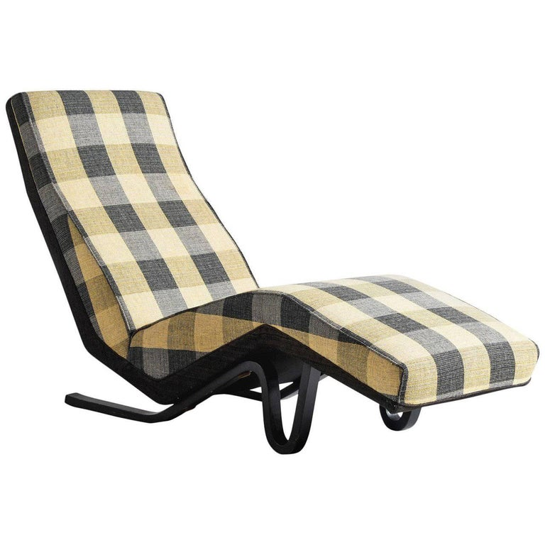 andrew j milne chaise longue for sale at 1stdibs. Black Bedroom Furniture Sets. Home Design Ideas