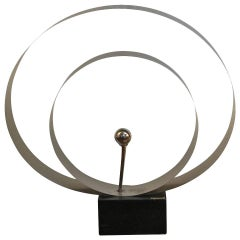 David Wolfe Steel Circular Sculpture