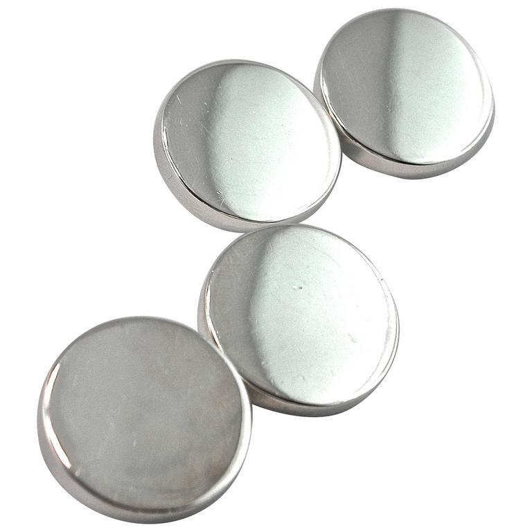 Jona Sterling Silver Cufflinks 1
