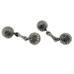 Jona Sterling Silver Cufflinks