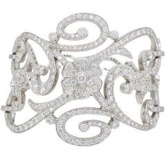 Penny Preville 13.37 Carat Diamond Cuff Bracelet