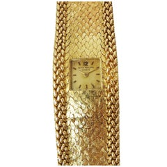 Patek Philippe Lady's Yellow Gold Bracelet Wristwatch