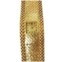 Patek Philippe Ladies Yellow Gold Bracelet Wristwatch