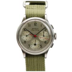 Benrus  Watch Co. Stainless Steel Sky Chief Wristwatch