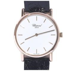 Chopard Rose Gold Classic Slim Wristwatch