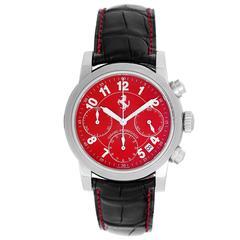 Girard Perregaux Stainless Steel Ferrari Modena Chronograph Automatic Wristwatch