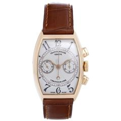 Franck Muller Rose Gold Chronograph Automatic Winding Wristwatch 5850 CC