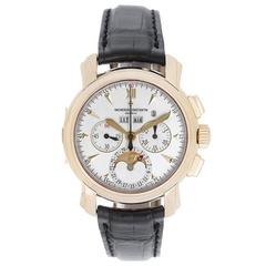 Vacheron Constantin Malte Moon Phase Power Reserve Chronograph Wristwatch