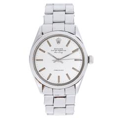 Rolex Stainless Steel Air-King Oyster Perpetual Automatic Wristwatch 5500
