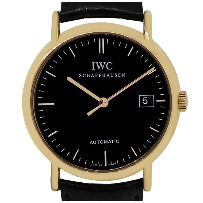 IWC Portifino Rose Gold Automatic Wristwatch IW353318
