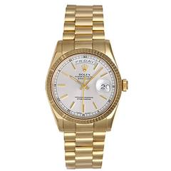 Rolex Yellow Gold President Day-Date Automatic Winding Wristwatch 118238