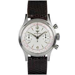 Wittnauer Stainless Steel Chronograph Wristwatch Ref 3256, circa 1960