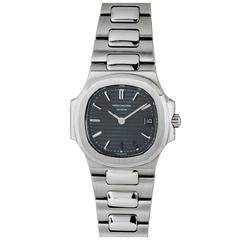 Patek Philippe Ladies Stainless Steel Nautilus Quartz Wristwatch, circa 1990s