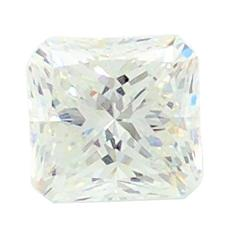 3.17 Carat Square GIA Certified Princess Cut Diamond