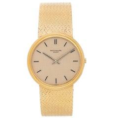 Patek Philippe & Co. Yellow Gold Calatrava Manual Wristwatch Ref 3611 / 1