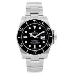 Rolex Stainless Steel Submariner Automatic Wristwatch Ref 116610