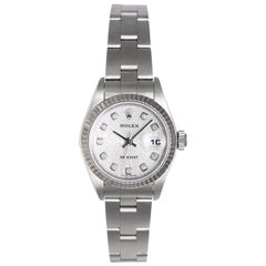 Rolex Ladies Stainless Steel Datejust Wristwatch Ref 79174
