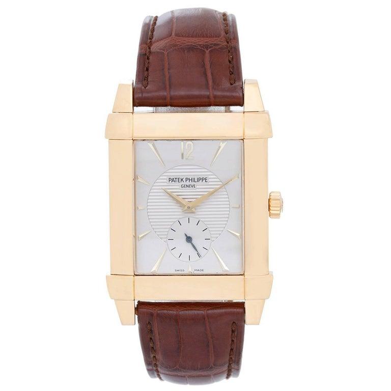 Patek Philippe Yellow Gold Gondolo Manual Wind Wristwatch