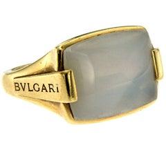Bulgari Moonstone Metropolis Gold Ring