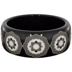 Tiffany & Co. Paloma Picasso Resin Zellige Bangle Bracelet
