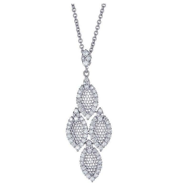 Diamond 18 Karat Gold Pendant