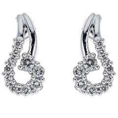Diamond 14 Karat Gold Earrings