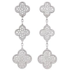 "Van Cleef & Arpels ""Magic Alhambra"" Earrings"