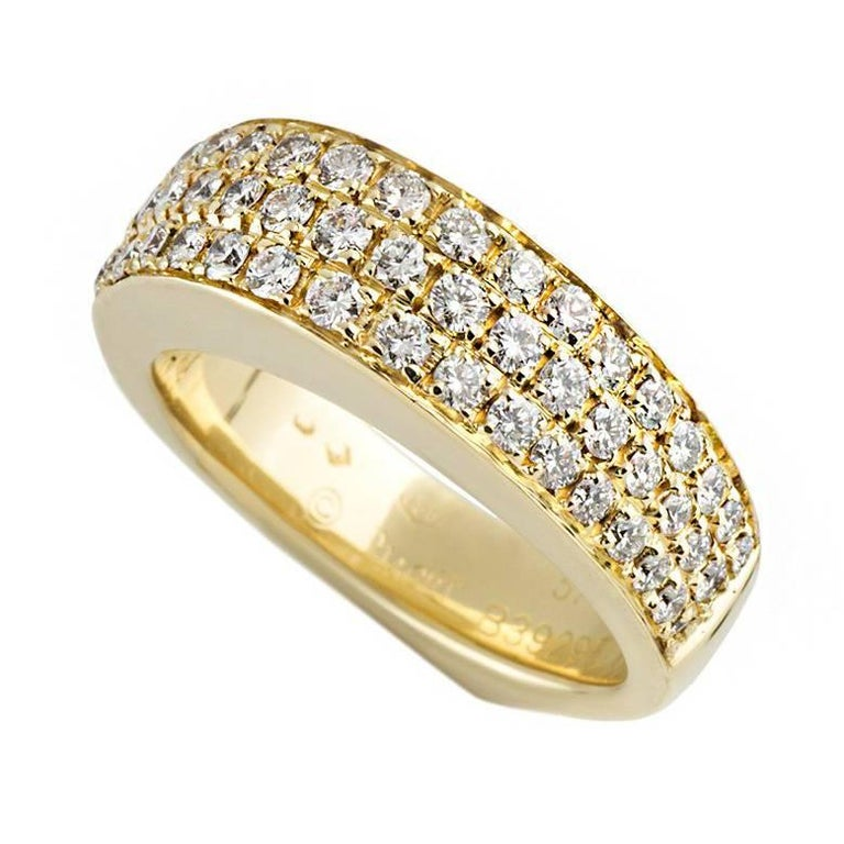 Piaget Yellow Gold Diamond Dress Ring 1.50 Carat