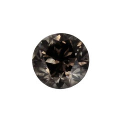 .65 Carat Natural Fancy Gray Round Brilliant Diamond, with GIA Lab Report