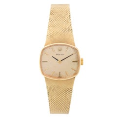 Rolex Ladies Yellow Gold Vintage Quartz Wristwatch, circa 1960s