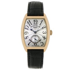 Franck Muller Ladies Rose Gold Curvex manual Wristwatch