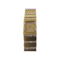 Piaget Ladies Yellow Gold Diamond Mini Polo Bracelet quartz Wristwatch