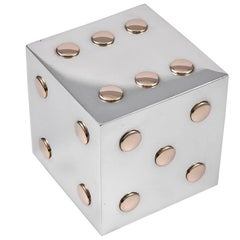 Cartier Sterling Silver Dice Cube
