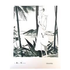 Chanel Vintage Ad Print - 1930's Rare