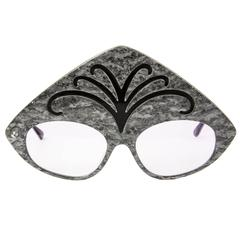 Vintage Robert La Roche Vienne Designer Cat Eyeglass Sunglass Frames