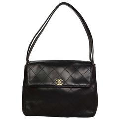 Chanel Vintage '97 Black Quilted Flap Bag GHW