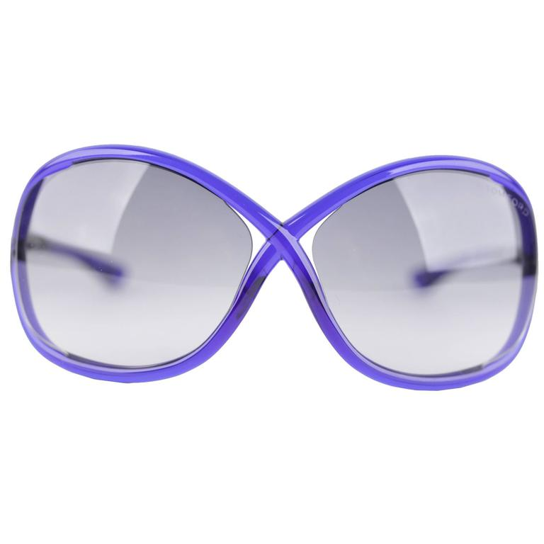 076b4cadcd TOM FORD Sunglasses WHITNEY TF9 90B 64 14 110 Oversized Soft Round BOXED  Eyewear For