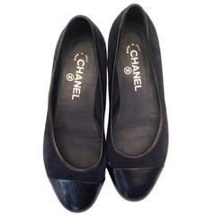 Chanel Ballerina Flats - Blue - Size 38