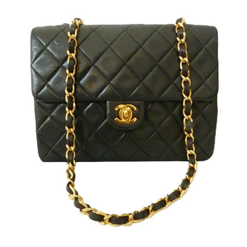 black chanel crossbody bag at 1stdibs