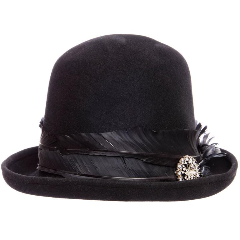 Comme des Garcons Homme Plus By Stephen Jones Men s Wool Hat at 1stdibs f38eae129b0