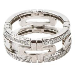Parentesi Ring White Gold Diamonds