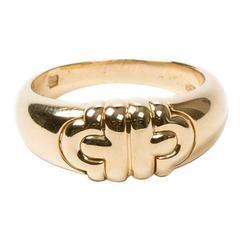 Parentesi Ring Yellow Gold