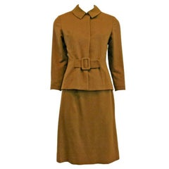 1960s Fall pure Vicuña Skirt Suit -  Stunning & Rare
