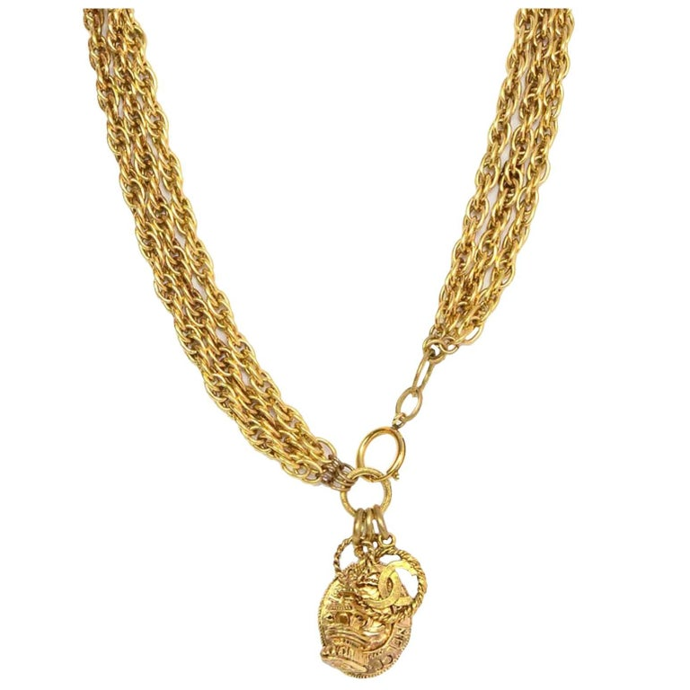 Chanel Gold-Tone Multi-Strand Belt/Necklace 1