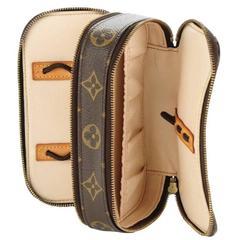 Louis Vuitton Monogram Men's Unisex Vanity Travel Grooming Cosmetic Case Bag