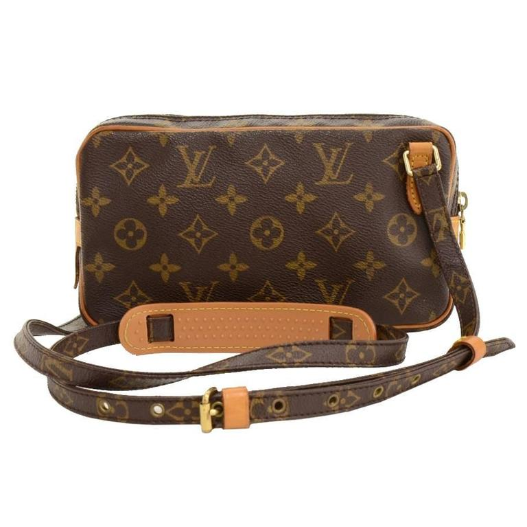 Louis Vuitton Pochette Marly Bandouliere Monogram Canvas Shoulder Bag 1