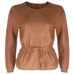 Courreges Brown Jumper
