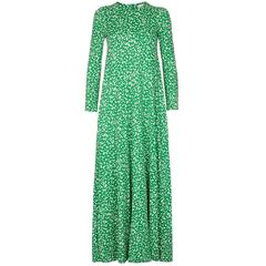 1970s Diane von Furstenberg Maxi Dress